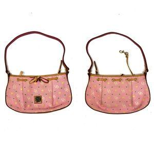 DOONEY&BOURKE - pink signature logo mini hobo bag